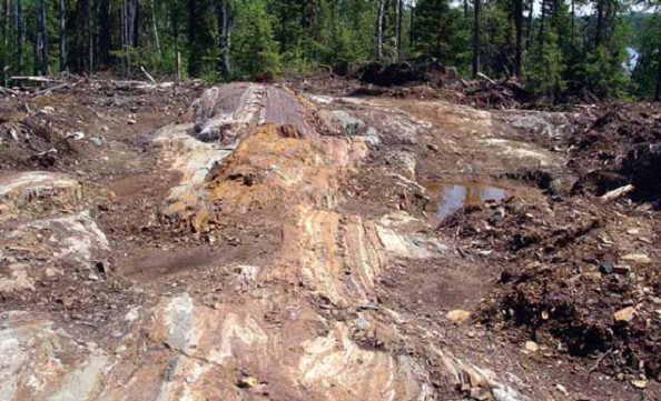 VW Nickel deposit - Katrina zone